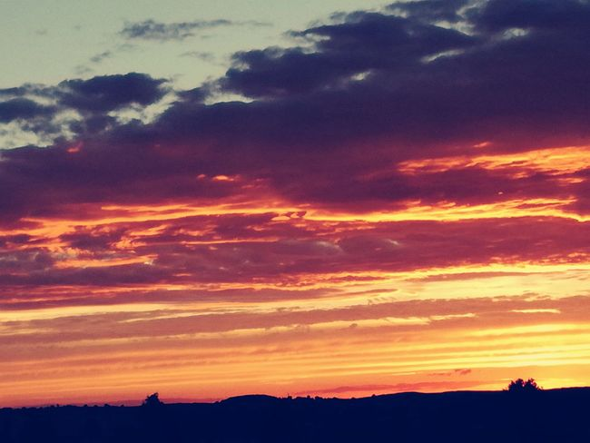 Orange Color Dramatic Sky Sky Mountain Sunset Cloud - Sky Multi Colored Silhouette Outdoors Scenics Yellow Red Beauty In Nature Sunset And Clouds  Best Of EyeEm