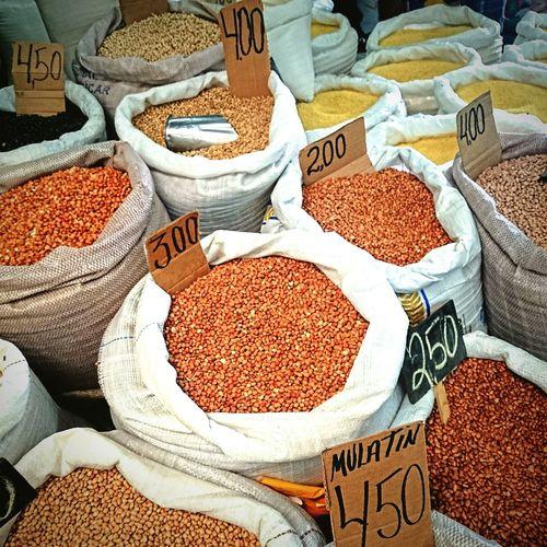 Market Sale Beans Seeds Pricetag Prices Seed Bag Food Live Love Shop