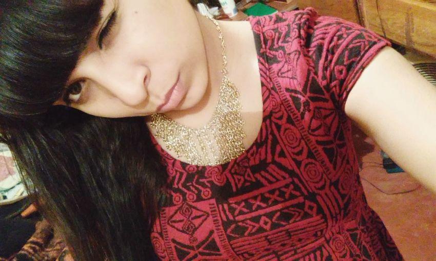 Mamichis WeeksAgo Red Reddress Girl First Eyeem Photo