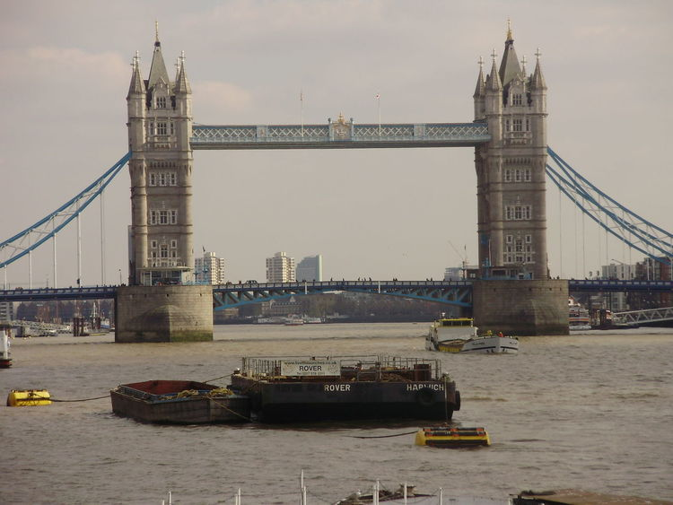 Bridge - Man Made Structure Built Structure City London Outdoors River Tower Bridge  Water London Lifestyle