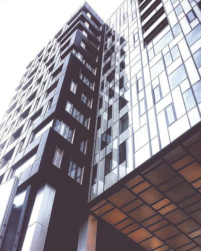 Low Angle View Built Structure Architecture Modern Building Exterior Skyscraper Outdoors City Sky Office Block No People Day Estonia Tallinn Close-up EyeEmNewHere
