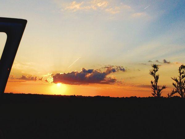 Hello World Sunset :)