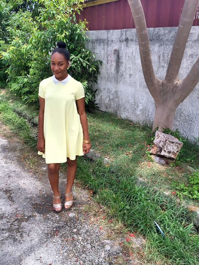 Mellow in Yellow Dress Up Good Day Fashion Blackgirlfashion