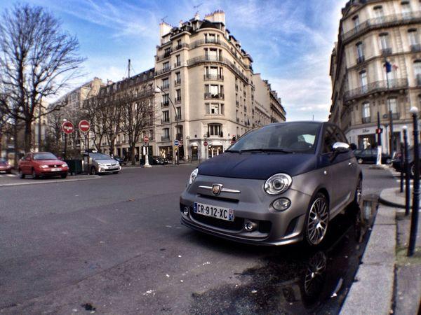 Abarth 595 Turismo, cute car don't you :) ? Cute Abarth Paris Cars