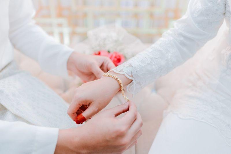 Wedding Bracelets EyeEm Selects Hand Women Human Body Part