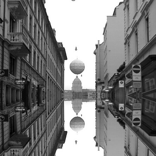 Hanging Out Abstract Urban Blackandwhite Mirror Zürich Bws_worldwide Eye4photography  Ee_daily EE_Daily: Black And White