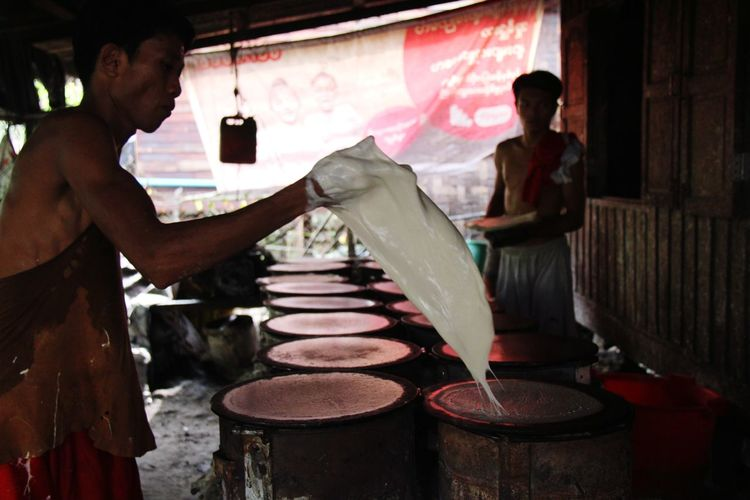 The Baker Working Men Artist Business Finance And Industry Broom