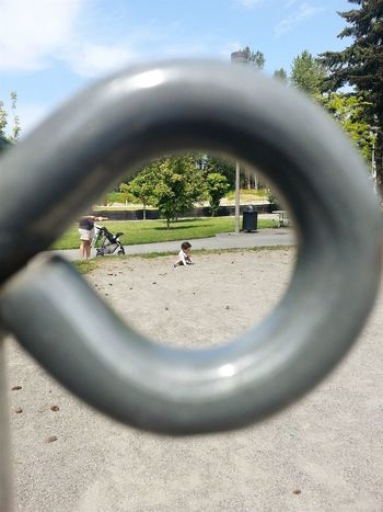 I see you Beautiful Day Park Playground Playing Captured Moment Enjoying Life