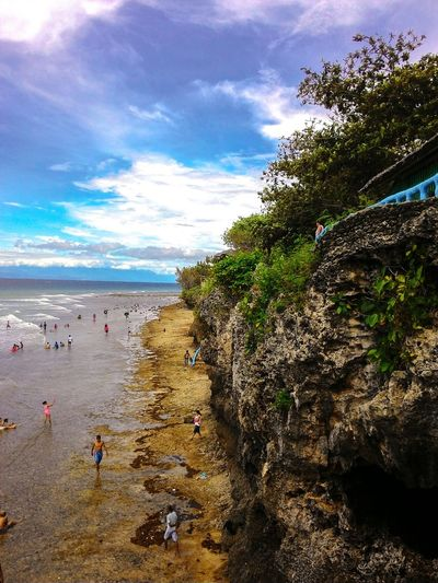 PUNTA DIWATA. I can see God's majestic hands from here. —Carmen, Agusan Del Norte, Philippines. Photo taken:Sunday September 11,2016 3PMBeach Sea Vacations Sky Travel Destinations Nature Summer Amazingcreation Photography First Eyeem Photo