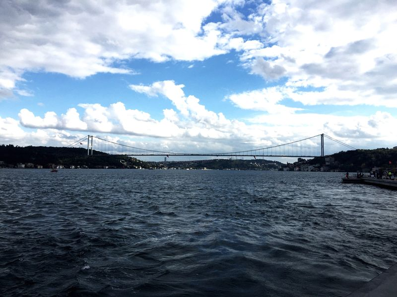 Istanbulove Boshoprus Istanbul Turkey Istanbul - Bosphorus Great View Sky Cloud Iphonephotography Iphone6plus My Year My View Landscape 3XSPUnity First Eyeem Photo