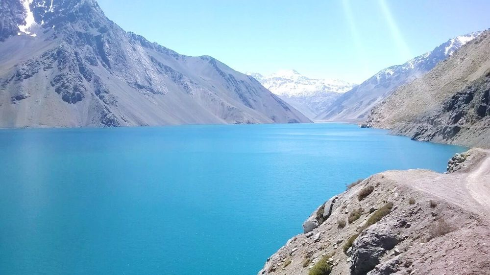 Embalse el yeso, Chile Beauty In Nature Scenics Nature Mountain Tranquility Embalse El Yeso Chile