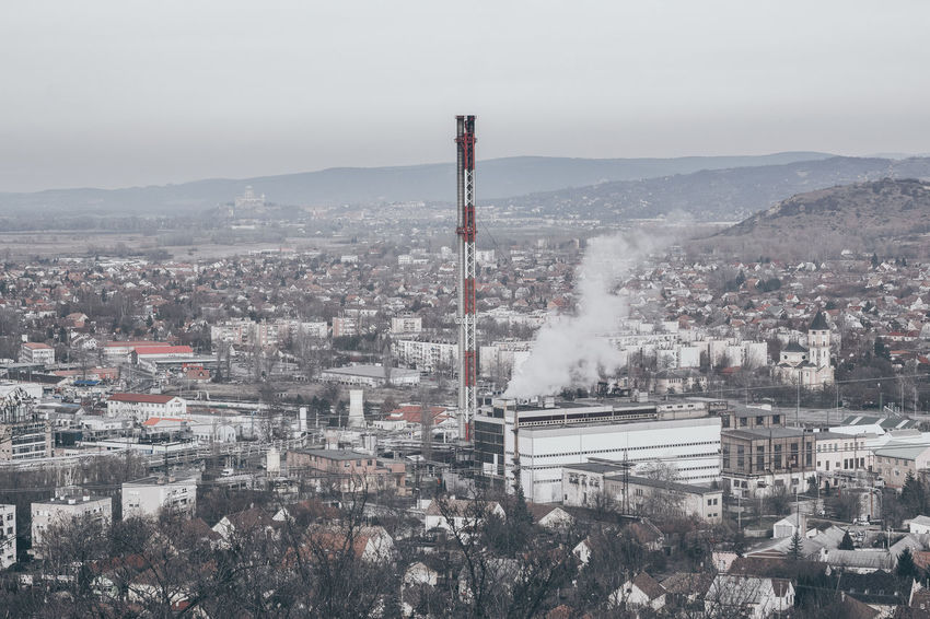 Helios Hungary Architecture Beauty In Nature Building Exterior Built Structure Canon 1300d Chimney City Emitting Eyembestshots Factory Helios 44M Helios Lens Industry No People Outdoors Pollution Smoke - Physical Structure Smoke Stack Vintage Lens Vintage Lens On Modern Camera Vintage Lens Photography Vintage Lenses Vintage Lenses Lover