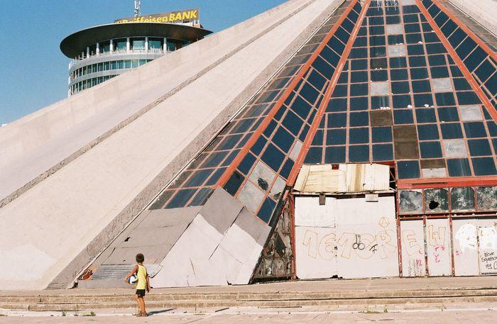 Architecture Brutalism Building Exterior Built Structure Child One Person Perspective Soviet Architecture EyeEmNewHere EyeEmNewHere