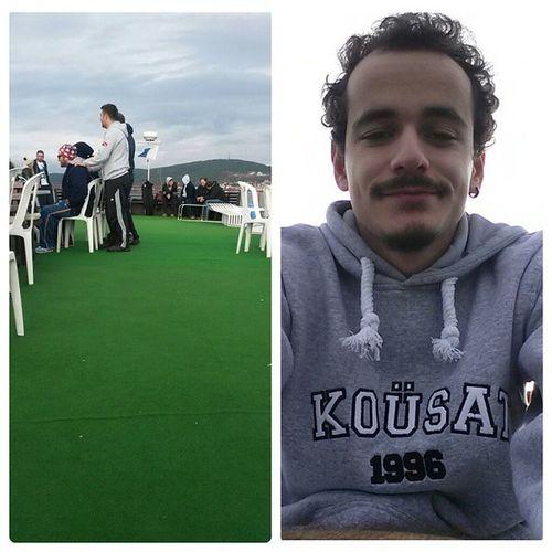 Günaydınn, bugün de dalmaya gidiyoruz biz :) Ayvalık Kousat SCUBA Diving kou selfie me