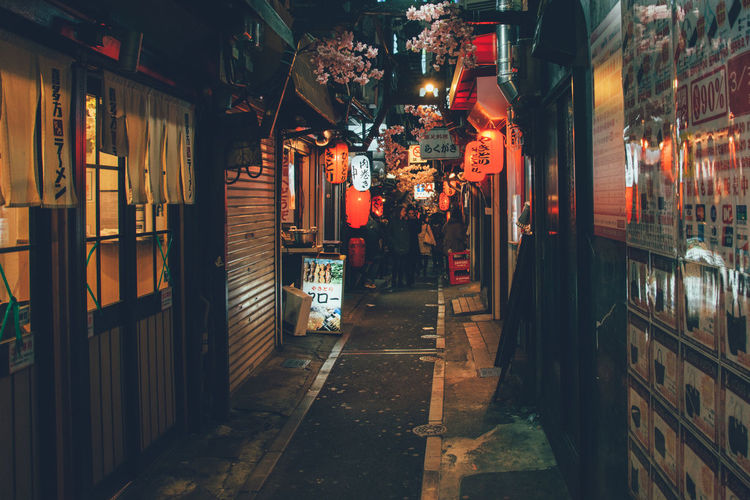 Magic Memory Lane City Life Japan Memory Lane Night Piss Alley Shinjuku Tokyo Ultimate Japan