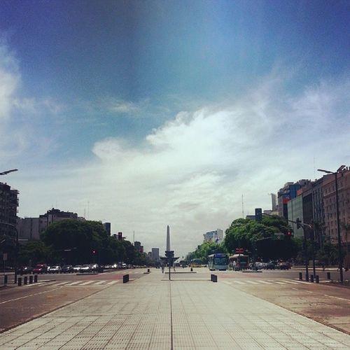 Plazadarepublica Obelisco Buenosaires 9dejulho