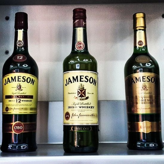 Jameson love. Jameson trio. No need for a glass. No? Irishwhiskey Irish Jameson Whiskey beiruting beirut alcohol livelove goodlife