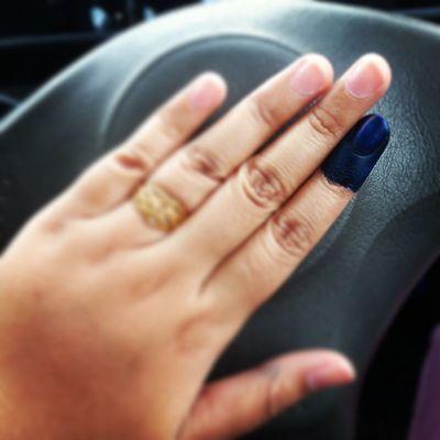 Cantik x manicure saya? Haha PRU13
