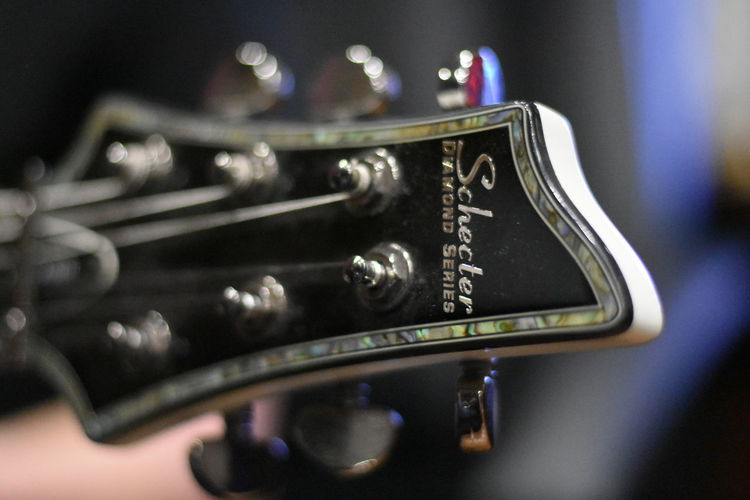 Schecter Diamond Series C1 Schecter Diamond Series C1 SchecterGuitars  Close-up Guitar Headstock Music Musical Instrument Schecter