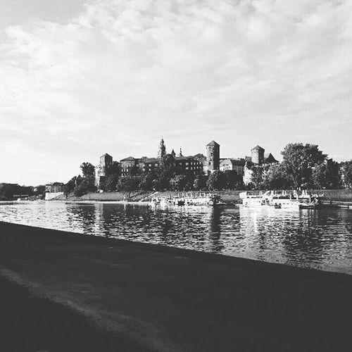 Wawel  Castle Cracow Krakow Blackandwhite Blancetnoir B &w