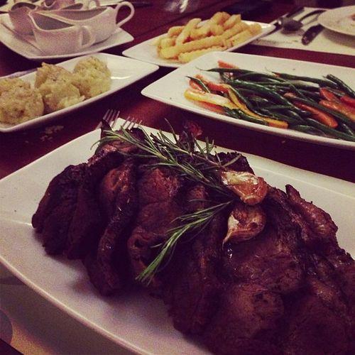Steak2kg Burgundy Dinner Instafood instapic