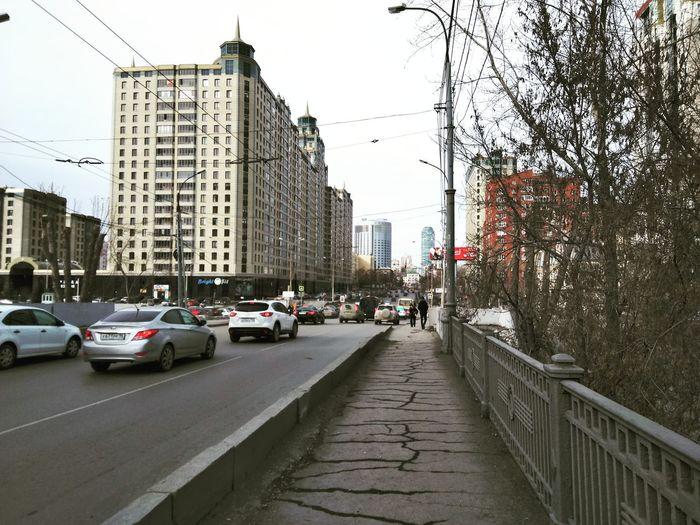Екатеринбург екб Белинского улица город весна Жизнь Россия