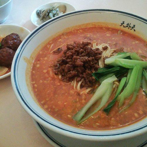 担々麺! 担々麺 中華麺 中華料理 麺 chinesenoodles chinesenoodle chinesefood noodles