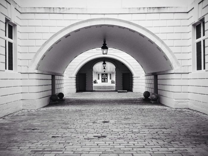 Passage In The Mean Time EyeEm London Meetup Symmetrical