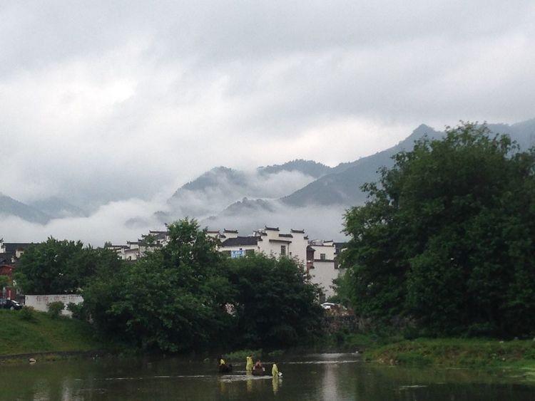 Protecting Where We Play Shot On IPhone Traveling China Photos Anhui,China Hongcun