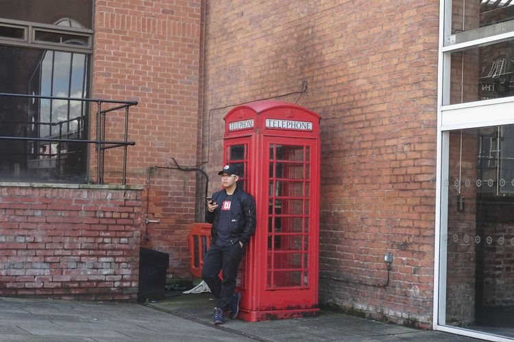 Phoneception Telephone Booth Architecture Communication