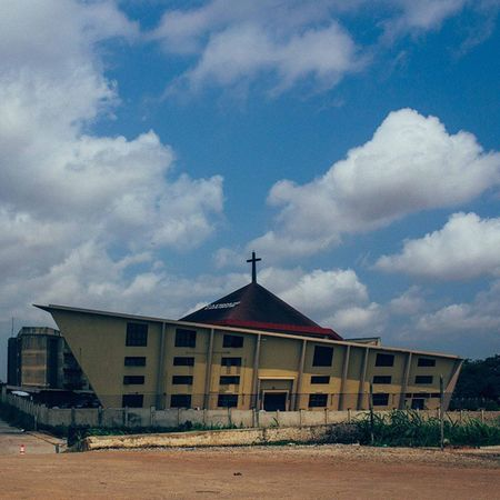 Thank God for the beautiful sunny day... Lagos Nigeria Church Lagosnigeria architecture africa snapitoga