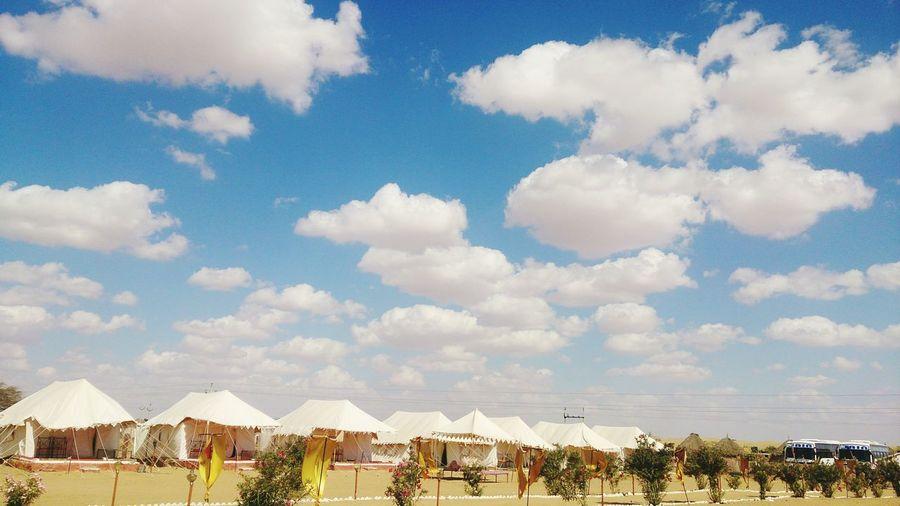 Deserts Around The World Desert Rajasthan Jaisalmer Tents India