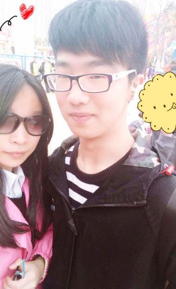 with my gf Gf