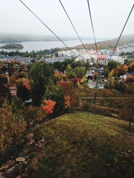 Mont Tremblant! Outdoors Sky Nature Telepherique Canada Quebec Mont Tremblant, Qc