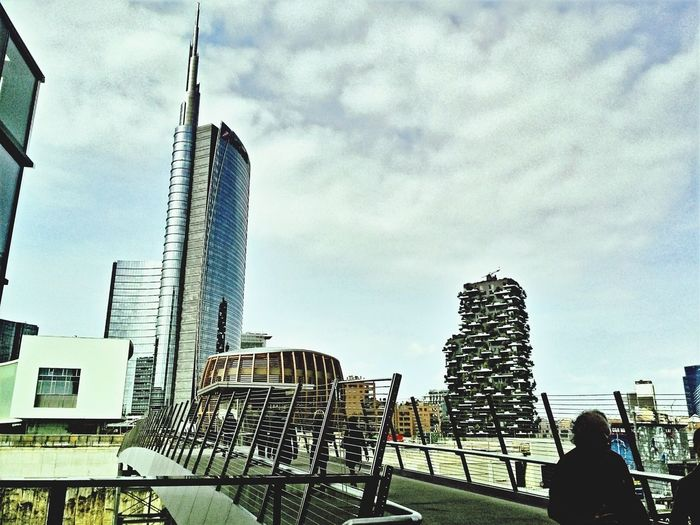 Milan,Italy Milanocity Milano DowntownMilano Downtown City Skyline City Allianztower