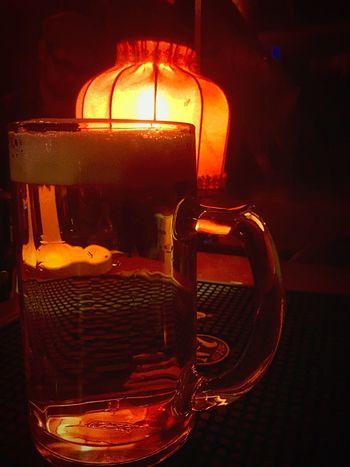 Rocking Out Beer Drinking Drinking Beer Berlin Red Atmosphere Great Atmosphere