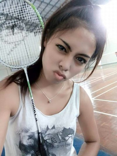 Badminton Exercise Sports Sportgirls Happy People Lalita😊 Happiness Court Fit Workout