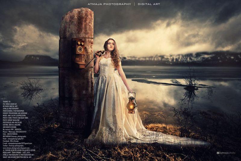 Digital Art Photographer Atmaja Photography Photoshop Model Photograohic Art Wardrobe Make-up Beautiful Woman