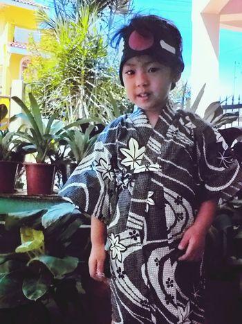 Linus Baby Japanese  浴衣(yukata) Cute Taking Photos Hi! Check This Out Japan Happy :)