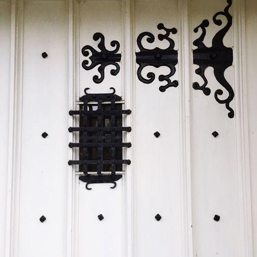 Door & hinges Door Hinges Ornate Ornate Hinges Doorway Bradford On Avon Old Skool Old Buildings Old Door Rivets Studs Iron Ironwork  Iron Work