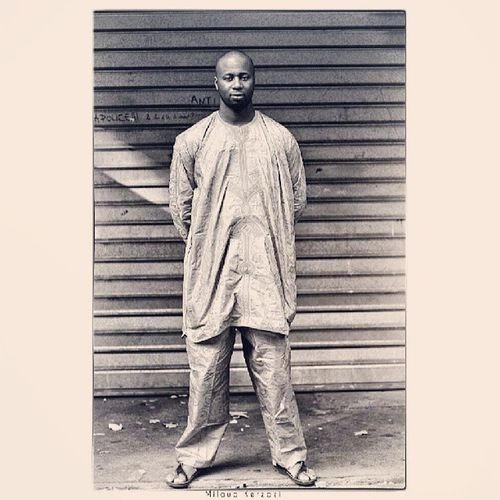 Black is Beautiful II by Miloud Kerzazi Portrait of Brother Mori Mali Diarra