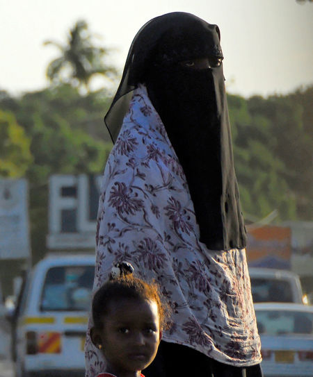 Kenya Africa Burka  Childhood Islam Lifestyles Outdoors People Real People