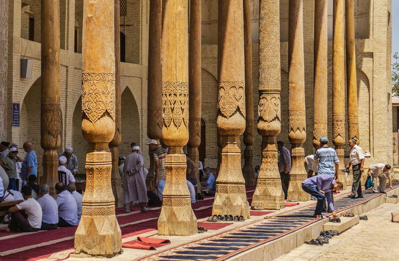 Men at mosque