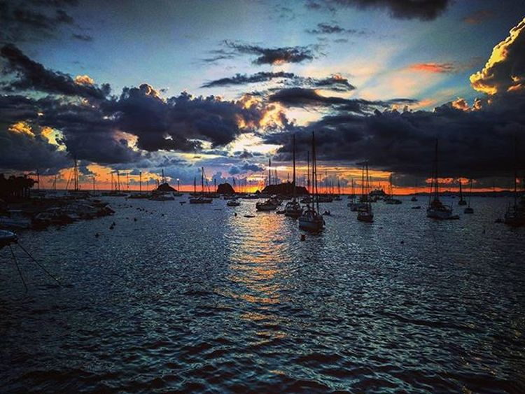 Sunset_madness Homeawayfromhome Boats Yachtheaven Stayafloat Stbarths