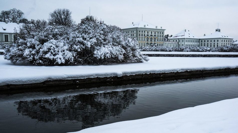 Munich München EyeEm Munich Castle Palace Winter Winter Wonderland Snow Sightseeing