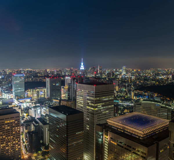 Night view of Tokyo's city centre. Architecture City Cityscape Copy Space D810 Japan Nikon Skyline Square Tokyo View Buildings Centre Focus Night No People Sharp Urban Urban Skyline Lost In The Landscape