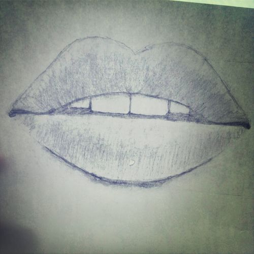 Art, Drawing, Creativity Art Yourself Lips Enjoying Life