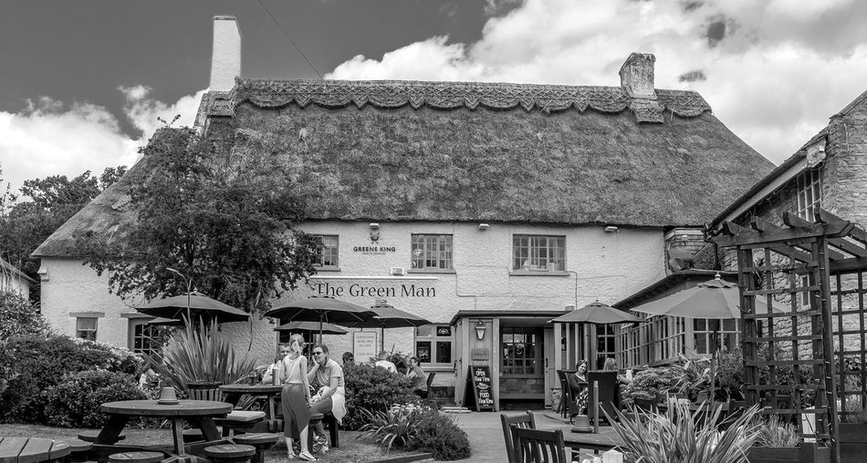 The Green Man, Lavendon, Buckinghamshire Pubs Buckinghamshire Pubs Black And White Monochrome Architecture Buckinghamshire