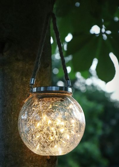 Summer lights Moodlighting Garden Solar Lights Illuminated Filament Hanging Electricity  Light Bulb Lighting Equipment Close-up Electric Bulb Lantern