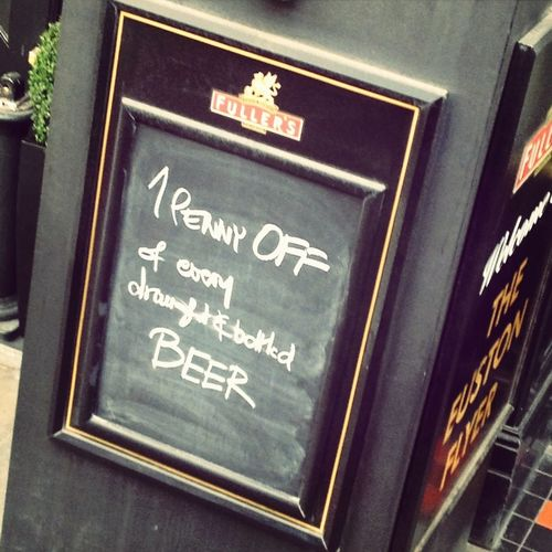 Wow! what a deal!! I must drink there.. No really.. the enticement is overwhelming